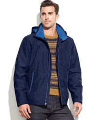 Hawke And Co. Outfitter Pro Tracker Fleece Lined Performance Parka Medieval Blue