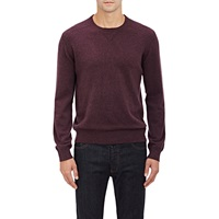 Z Zegna Heathered Sweater Purple