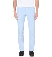 Ralph Lauren Newport Slim Fit Tapered Cotton Trousers Water Fall