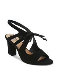 Tahari Night Suede Sandals