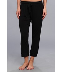 Bcbgeneration The Crush Capri Pant Black Women's Pajama
