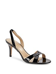 Saks Fifth Avenue Lolynn Slingback High Heel Sandals Black