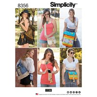 Simplicity Festival Bag Sewing Pattern 8356