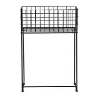 Bloomingville Deer Storage Basket Metal Black