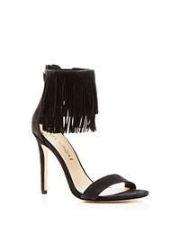 Via Spiga Tabia Fringe High Heel Sandals