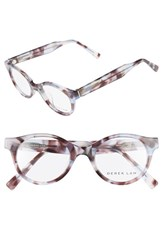 Derek Lam Women's 45Mm Glasses Ice Brown Tortoise