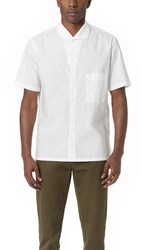 Christophe Lemaire Spread Collar Shirt Chalk