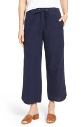 Eileen Fisher Women's Organic Cotton Paneled Drawstring Ankle Pants