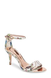 Ted Baker London Mavbe Ankle Strap Sandal Highgrove Hummingbird Print