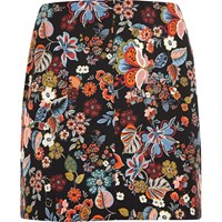 River Island Womens Ri Plus Red Floral Print Mini Skirt