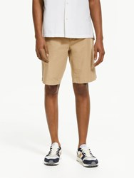 John Lewis And Co. Covino Soft Touch Chino Shorts Light Brown