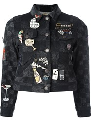 Marc Jacobs Multi Pin Jacket Black