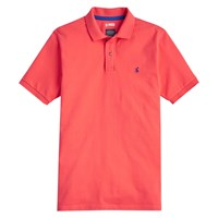 Joules Woody Classic Fit Polo Shirt Coral