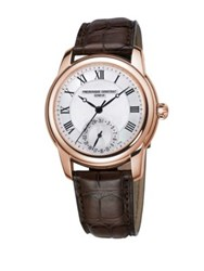 Frederique Constant Classics Manufacture Automatic Self Wind Stainless Steel Watch Black