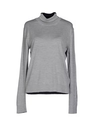 Aquilano Rimondi Knitwear Turtlenecks Women Grey