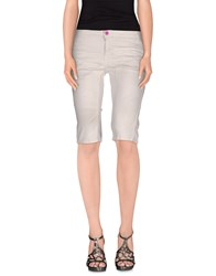 Cnc Costume National C'n'c' Costume National Denim Denim Bermudas Women White