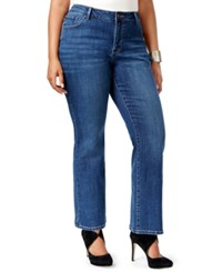 Lee Platinum Plus Size Curvy Fit Bootcut Jeans Created For Macy's El Paso