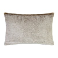 Helen Moore Faux Fur Latte Cushion 30X45cm