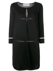 Gianluca Capannolo Single Breasted Coat Black