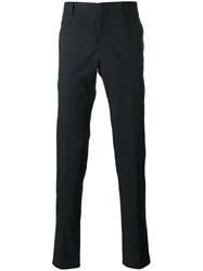 Maison Martin Margiela Casual Tailored Trousers Blue