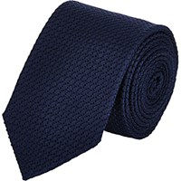 Drakes Drake's Men's Grenadine Neck Tie Navy