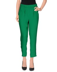 Vicolo Trousers Casual Trousers Women Green