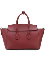 Bally Large 'Sommet' Tote Red