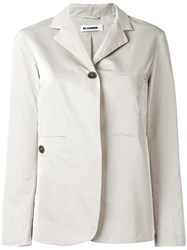 Jil Sander Two Button Blazer Nude Neutrals