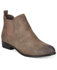 American Rag Desyre Chelsea Booties Only At Macy's Women's Shoes Stone