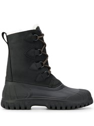 Rossignol Ankle Length Cross Lace Boots Black