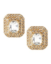 Fragments For Neiman Marcus Fragments Double Halo Crystal Earrings