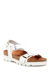 Sixtyseven Neva Leather Sandal White