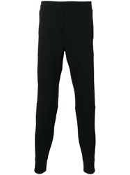 Polo Ralph Lauren Logo Embroidered Track Pants Black