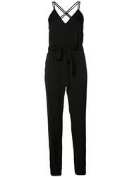 Milly Helena Jumpsuit Black