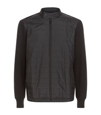Michael Kors Quilted Front Nylon Jacket Male Black