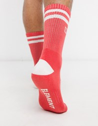 Element Clearsight Socks In Red