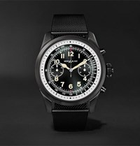 Montblanc Summit 2 42Mm Dlc Coated Stainless Steel Smart Watch Black