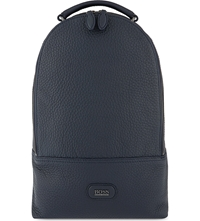 Hugo Boss Washed Grained Backpack 404 Navy
