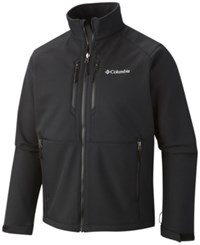 Columbia Men's Get A Grip Thermal Coil Softshell Jacket Black