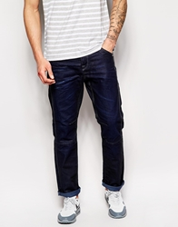 Jack And Jones Stan Jeans In Anti Fit Blue