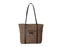 Vera Bradley Small Trimmed Vera Zebra Black Shoulder Handbags