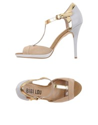 Bibi Lou Footwear Sandals Women Beige
