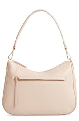 Nordstrom Finn Convertible Leather Hobo Pink Pink Rosecloud