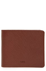 A.P.C. Men's Aly Leather Bifold Wallet