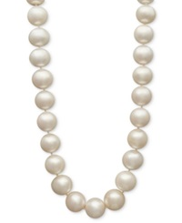 Belle De Mer Aa Cultured Freshwater Pearl Strand In 14K Gold 11 1 2 12 1 2Mm