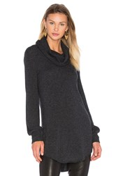 27 Miles Malibu Chanel Sweater Dress Charcoal