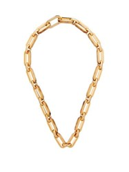 Burberry Link Chain Necklace Gold