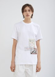 Martine Rose Flyer Crewneck T Shirt Hysteria