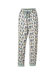 White Stuff Deer And Foxes Pj Bottom Natural