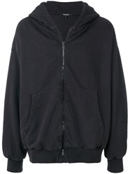 Yeezy Oversized Hoodie Cotton Black